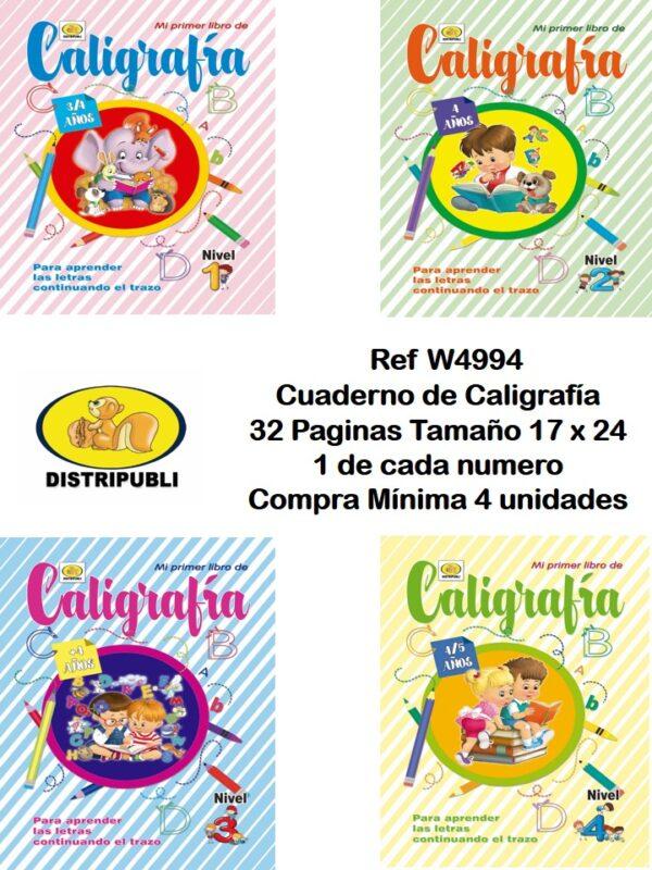Caligrafias de 32 Paginas