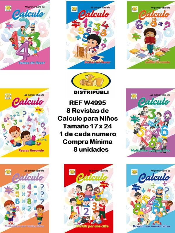 Revistas de Calculo de 32 Paginas