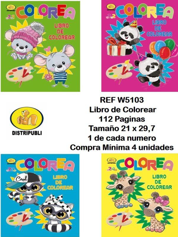 Colorear 112 Paginas