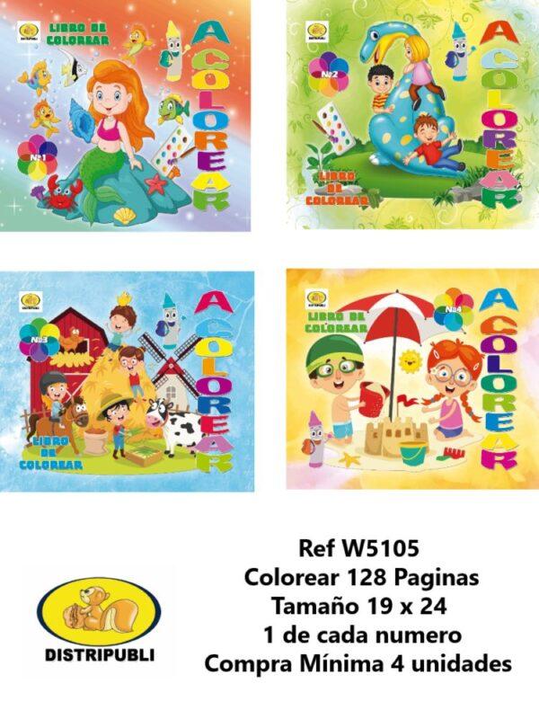 Colorear 128 Paginas