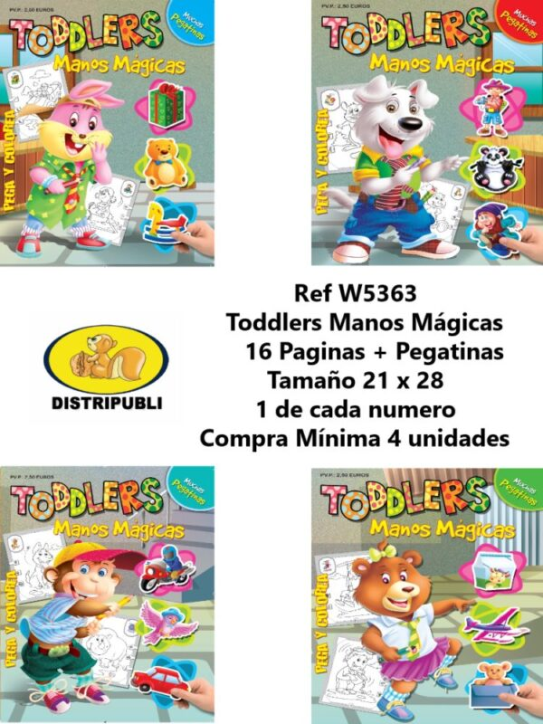 Toddlers Manos Magicas