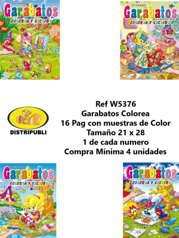 Garabatos Colorear