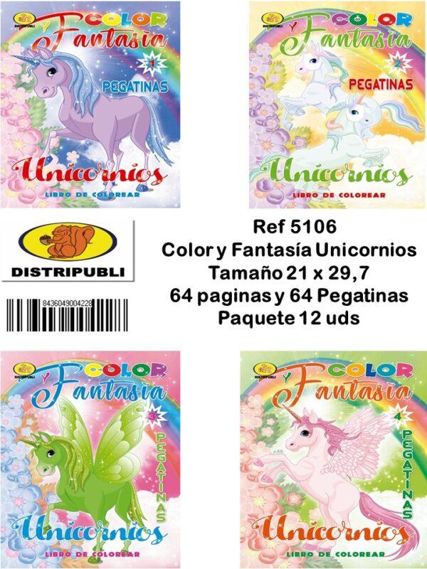 Color y Fantasia Unicornios
