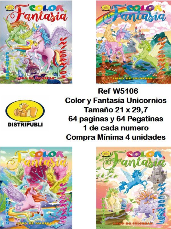 Color y Fantasía Unicornios