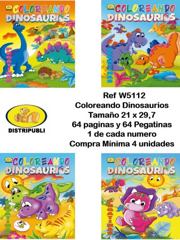 Coloreando Dinosaurios