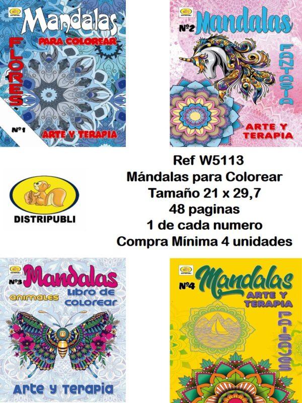 Mándalas 48 Paginas